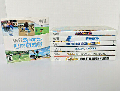 Nintendo Wii video games lot - choose!  All CIB & TESTED great!  More added 5/2!