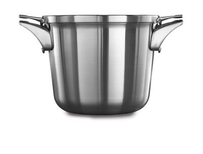 Calphalon Premier Space Saving Stainless Steel 4.5qt Soup Pot with Cover