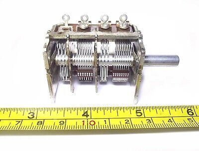 Alps Variable Capacitor 20pf - 320pf Fm Am Crystal Radio Antenna Tuner Balun