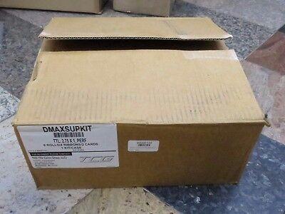 Kit Datamax Ttl 3x1 Perf 8 Rolls Industrial Thermal Transfer Labels 4 Ribbons