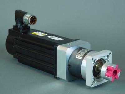 Allen-bradley Kinetix Inverter Duty 0.82kw Ac Servo Motor With Neugart Gear R...