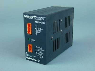 Weidmuller Connect Power Power Supply 992748 0024 - New Surplus