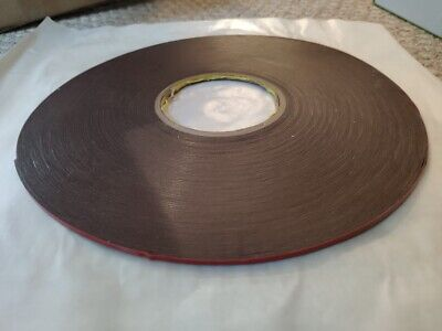 3m Vhb Tape 4611 0.125 Width 36 Yd Length Commercial Attachement Double Sided