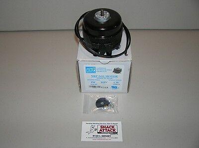 Dixie Narco Bev Max 9 Watt Condenser Fan Motor Free Ship