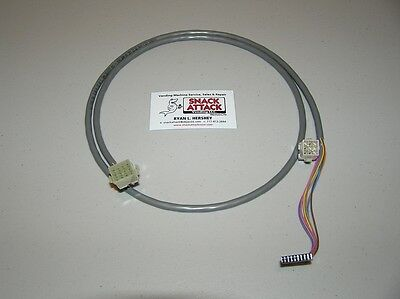 Mars Mei Trc-6800h Single Price Coin Mech To Bill Validator Harness Cable 110v