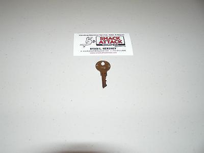 Vendstar 3000 Top Lid Door Key 159 New Oem Free Ship