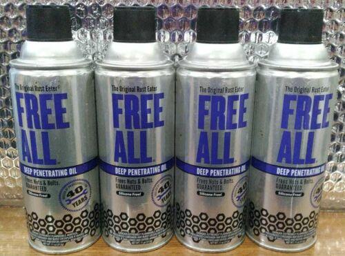 Gasoila Free All Deep Penetrating Oil Frees Nuts Bolts 11oz - Lot of 4
