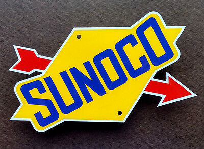 SUNOCO SIGN -  Garage Decor - NASCAR - Racing Logo - Automobilia - Petrolania