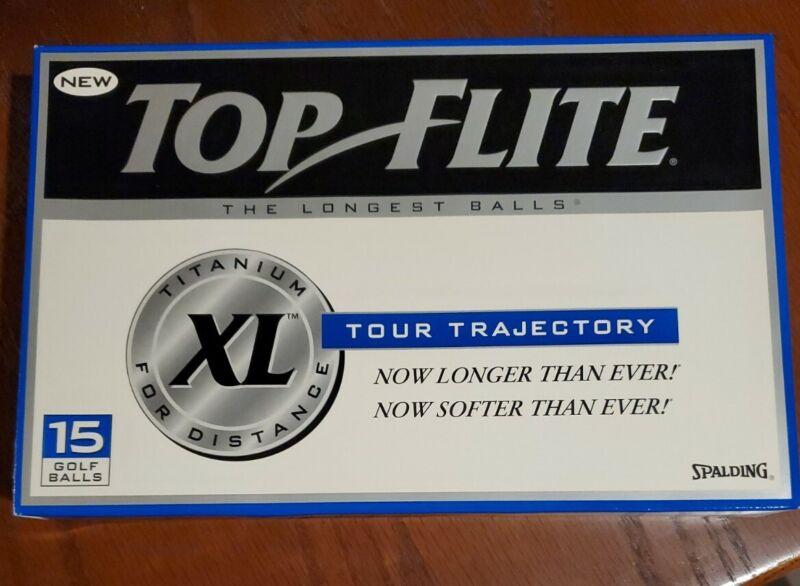 Vintage Top Flite Tour Golf Balls, New Old Stock - 15 balls