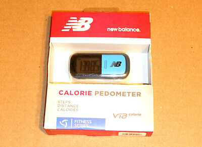 New Balance Calorie Pedometer Fitness Series VIA Calorie New In Box Free ship -