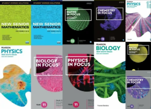 Year 11 and 12 Textbooks HSC