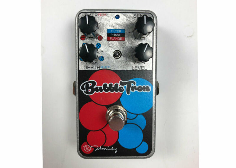 Keeley Electronics Bubble Tron Dynamic Flanger Phaser - Used FREE 2 DAY SHIP