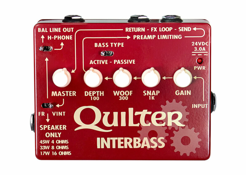 Quilter Interbass 45-watt Bass Head