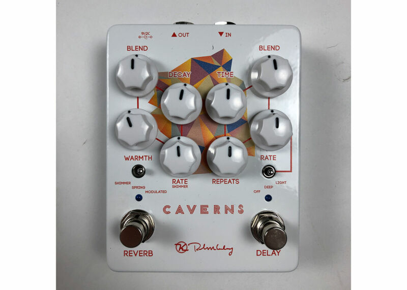Keeley Electronics Caverns V2 Delay/Reverb Used FREE 2 DAY SHIP