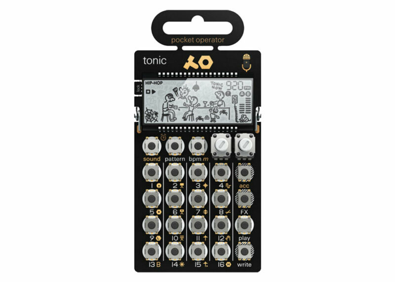 Teenage Engineering PO-32 Tonic Drum Synthesizer and Sequencer - 010AS032 - Demo