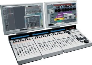 Mackie MCU Pro with 2 extenders XT Pro