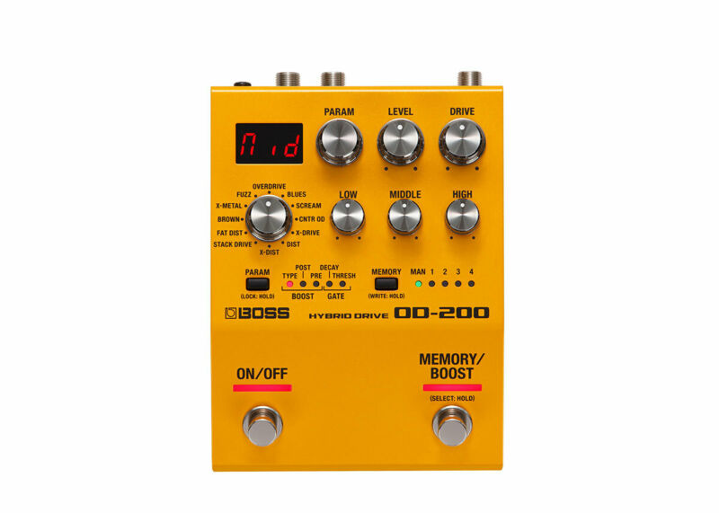 Boss OD-200 Hybrid Drive Pedal - FREE 2 DAY SHIP
