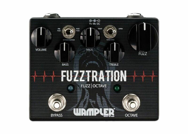 Wampler Fuzztration Fuzz & Octave  - FREE 2 DAY SHIP