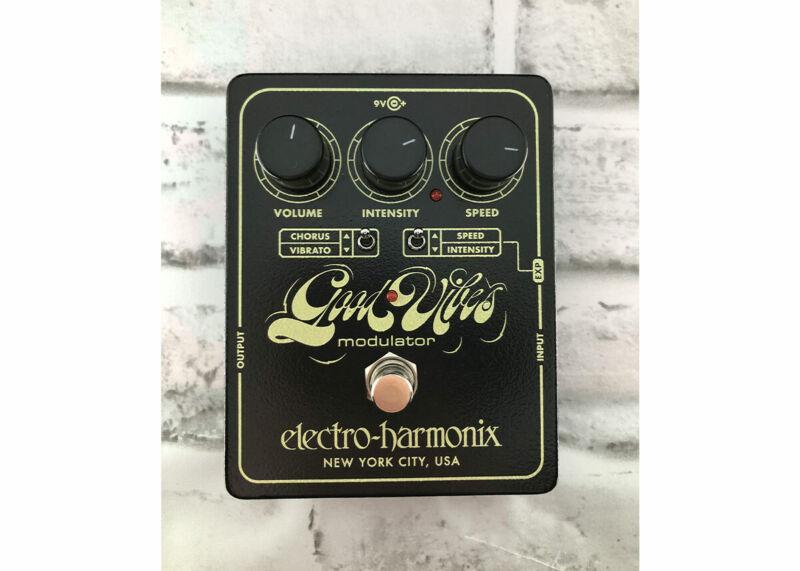Electro-Harmonix Good Vibes Modulator - Used FREE 2 DAY SHIP