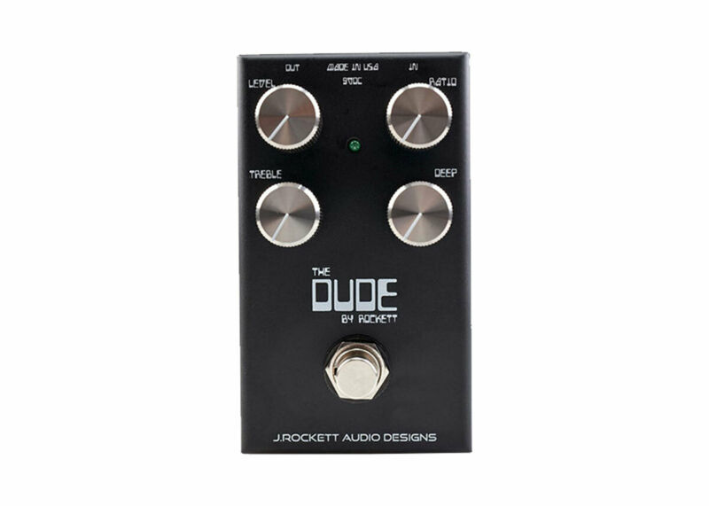 J. Rockett Audio Designs The Dude V2 Overdrive - FREE 2 DAY SHIP