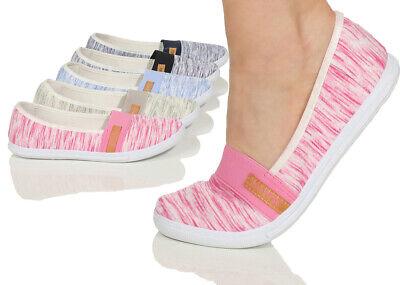 Damen Ballerina Schuhe Damenschuhe Ballerinas Sneaker flache Halbschuhe flats