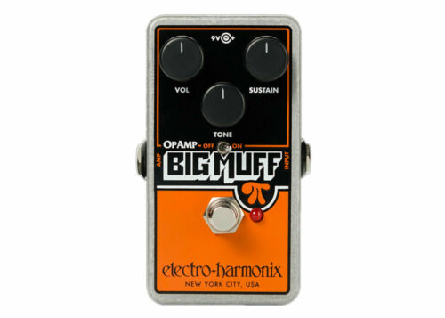 Electro-Harmonix Op-Amp Big Muff Pi Distortion/Sustainer GENTLY USED