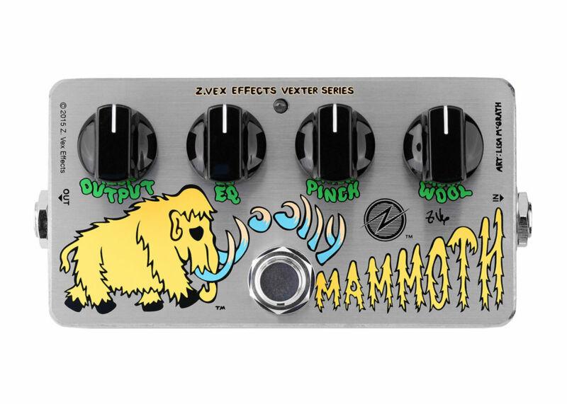 ZVEX Effects Vexter Woolly Mammoth Bass Fuzz - FREE 2 DAY SHIP