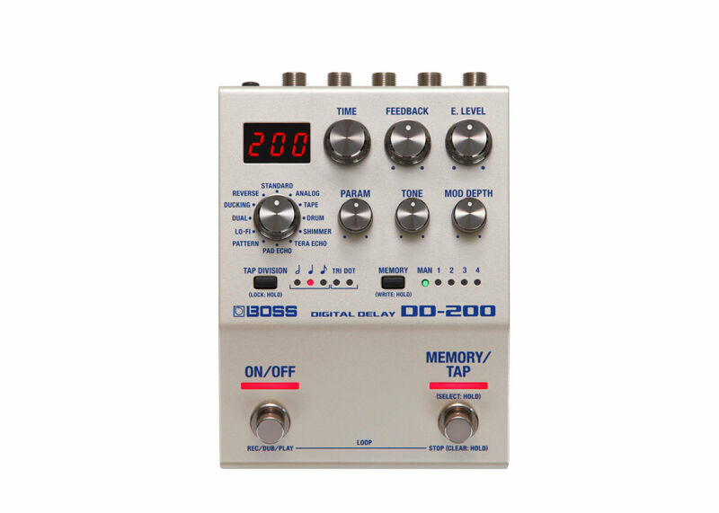 Boss DD-200 Digital Delay - FREE 2 DAY SHIP