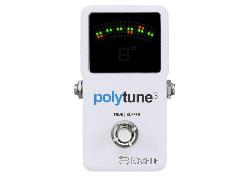 TC Electronic Polytune 3 Tuner + Buffer - FREE 2 DAY SHIP