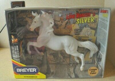 BREYER The Lone Ranger's SILVER No. 574 w/VHS Tape *NIB