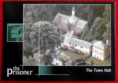THE PRISONER Auto Series - Volume 1 - THE TOWN HALL - Card #63 Cards Inc 2002