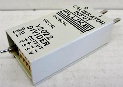 Fluke Y2022 Divider Fixture Module 1001 Divider - 0.005 Thermometer Calib