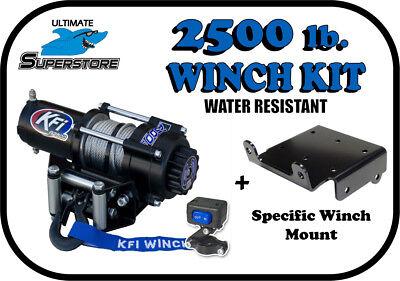 KFI 2500 LB Winch Mount Kit '02-'08 Yamaha Grizzly 660
