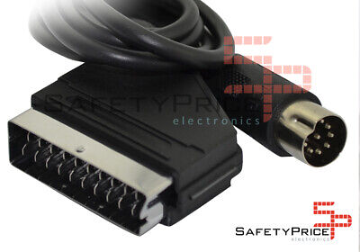 Cable RGB Mega Drive Master System PAL Europa SEGA MD Megadrive Nuevo...