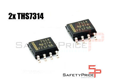 2x THS7314 Amplificador Video SOP-8 RGB NEC PC Engine Nintendo 64 Electronica