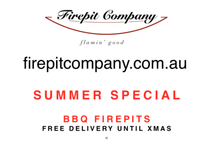 Fire Pit BBQ Special