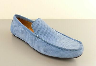 Alfani $80 KENDRIC BLUE MEN'S Size 10M Loafers & Slip Ons DENIM GREY Shoes L23 S ()
