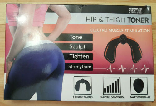 Evertone Hip & Thigh Toner EMS Brand New In Box FREE SHIPPING
