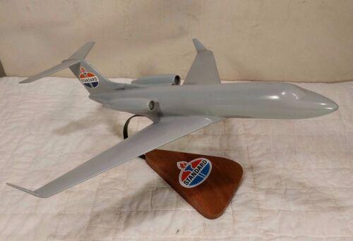 Vintage Jet Desk Model - 727? - Marked Standard Oil - Amoco - COOL! 18 x 16