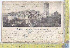 Cartolina-Postcard-Dogliani-Istituto-Femminile-della-S-Famiglia-1905