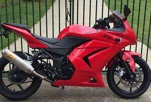 Kawasaki Ninja 250 LAMS,2010 model, $2900 Youngtown Launceston Area Preview