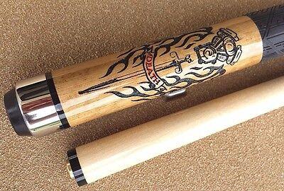 New Desperado Pool Cue OL41 Tribal Design By Blow Torch Rubber Grip FREE Shipping!!