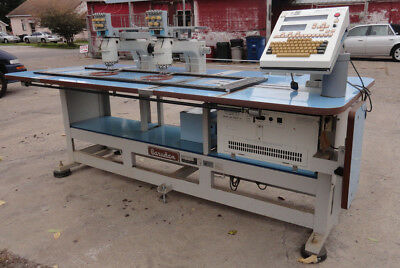 Barudan Smt 2 Station 5 Needle 5 Color Embroidery Machine - Used 115v 1-ph