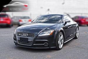 2011 Audi TTS 2.0T  AWD S-TRONIC PADDLE SHIFT ACCIDENT FREE