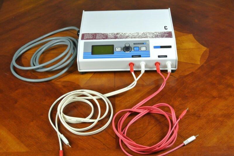 Richmar Theramini 2 Electrical Stimulation Machine E-Stim Cables & Instructions