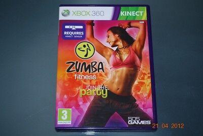 Zumba Fitness Xbox 360 Kinect UK PAL **FREE UK POSTAGE** gebraucht kaufen  Versand nach Germany