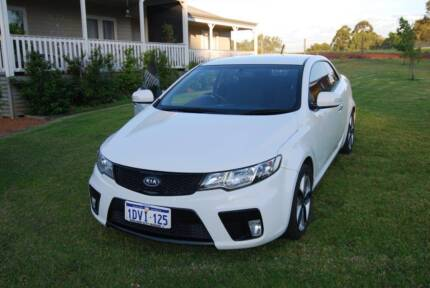 2010 Kia Cerato Koupe Automatic (White) Tapping Wanneroo Area Preview