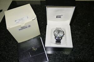 Montblanc Timewalker Chronograph Stainless Steel Automatic Melbourne CBD Melbourne City Preview