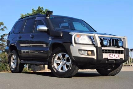 2007 Toyota Land Cruiser Prado GXL  **TURBO DIESEL - 8 SEATER**