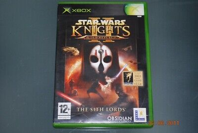 Star Wars Knights of the Old Republic II 2 The Sith Lords Original Xbox Game PAL